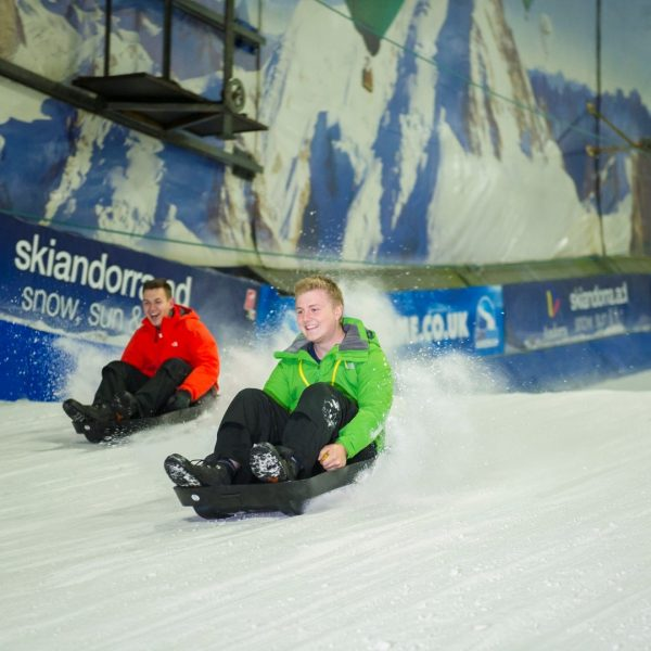 SnowDome -Tamworth- 2013 ski board boarding snow instructor lesson tube
